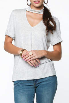 Everly Mock Neck Top