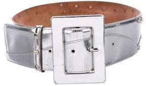 Dolce & Gabbana Metallic Waist Belt