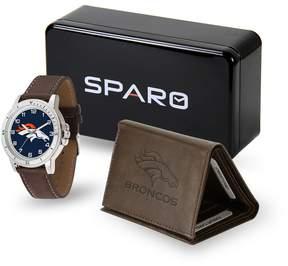 DAY Birger et Mikkelsen Kohl's Men's Sparo Denver Broncos Watch and Wallet Set