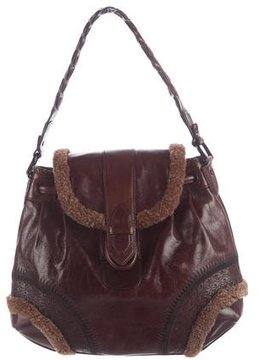 Cole Haan Leather Victoria Hobo