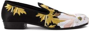 Ann Demeulemeester floral jacquard loafers