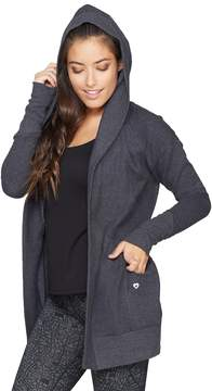 Colosseum Women's One-Way Hooded Cardigan