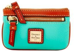Dooney & Bourke Pebble Grain Small Coin Case - JADE - STYLE