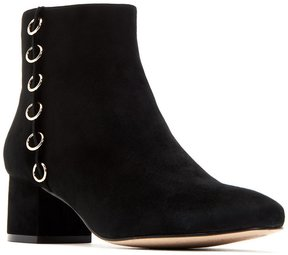 Katy Perry The Louise Suede Metal Ring Detail Booties