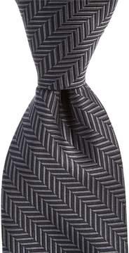 Daniel Cremieux Big & Tall Cross Solid Traditional Silk Tie