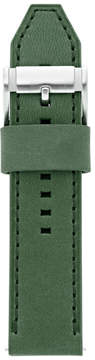 Fossil Leather 24mm Watch Strap - Green