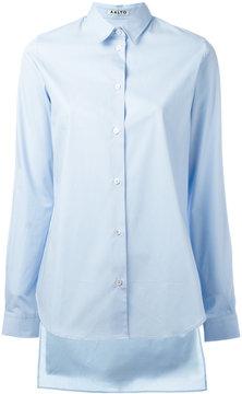 Aalto high-low shirt