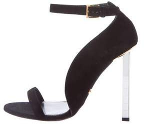 Tom Ford Suede Ankle Strap Sandals