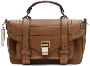Proenza Schouler Brown Tiny PS1 Messenger Bag