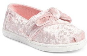 Toms Infant Girl's Alpargata Knotted Flat