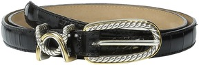 Brighton Cable 3/4 Classic Skinny Belt Women's Belts