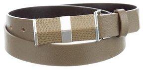 Diane von Furstenberg Embellished Leather Belt
