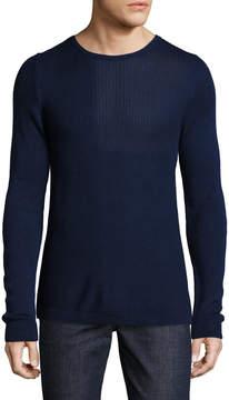 Lot 78 Lot78 Men's Ribbed Crewneck Sweater