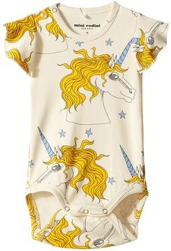 Mini Rodini Unicorn Star Wing Bodysuit Girl's Jumpsuit & Rompers One Piece
