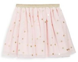 Lili Gaufrette Toddler's & Little Girl's Printed Tulle Skirt