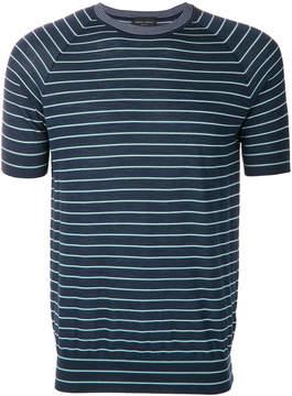 Roberto Collina slim striped T-shirt