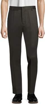 BLK DNM Men's Wool Flat Front Trousers
