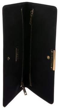 Dolce & Gabbana Long Satin Clutch