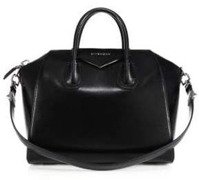 Givenchy Antigona Medium Glazed Leather Satchel