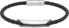 Swarovski Gesture Simple Bracelet, Gray, Palladium plating