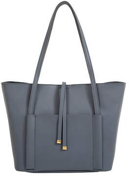 Mellow World Gray Tory Tote & Pouch Set