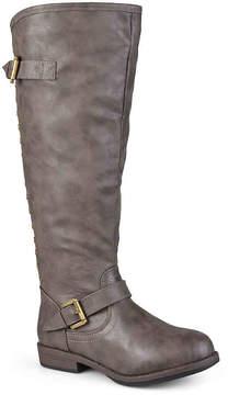 Journee Collection Women's Spokane Wide Calf Riding Boot
