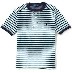 Ralph Lauren Little Boys 2T-7 Striped Henley Tee