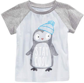 First Impressions Cool-Print Cotton T-Shirt, Baby Boys (0-24 months), Created for Macy's