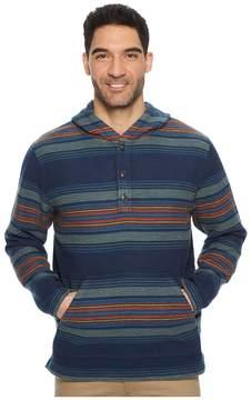 Pendleton Serape Stripe Popover Hoodie Men's Sweatshirt
