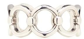 Philippe Audibert 'Alyssa' silver plated cutout link ring