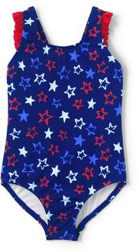 Lands' End Lands'end Toddler Girls Back Bow One Piece Swimsuit