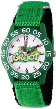 Marvel Guardian Of The Galaxy Boys Green Strap Watch-Wma000127