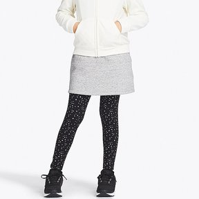 Uniqlo Girl's Pile-lined Sweat Skirt