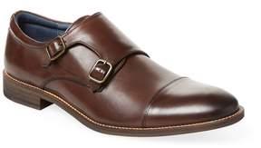 Rush by Gordon Rush Men's Leather Monk-Strap Shoe