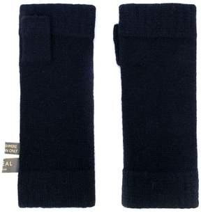 N.Peal fingerless gloves