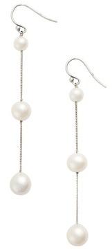 Chan Luu Women's Pearl Linear Earrings