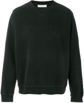 J.W.Anderson embroidered JWA logo sweatshirt