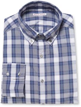 Michael Bastian Men's Check Button-Down Cotton Sportshirt