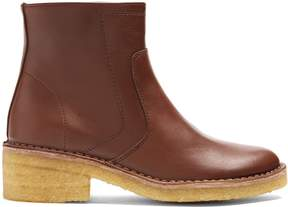 A.P.C. Armelle leather ankle boots
