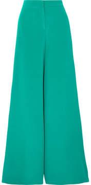 Emilio Pucci Stretch-cady Wide-leg Pants - Green