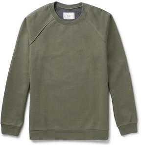 Folk Cotton-Blend Jersey Sweatshirt