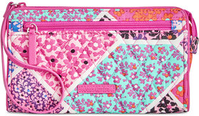 Vera Bradley Rfid Front-Zip Wristlet - LILAC PAISLEY - STYLE