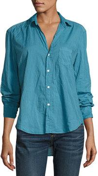 Frank And Eileen Eileen Long-Sleeve Button-Front Shirt, Blue