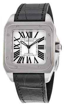 Cartier Santos 100 Stainless Steel Medium Watch