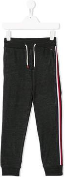 Tommy Hilfiger Junior side stripe track trousers