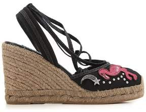 Marc Jacobs Women's Multicolor Cotton Wedges.