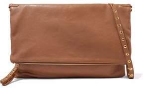 RED Valentino Eyelet-Embellished Leather Shoulder Bag