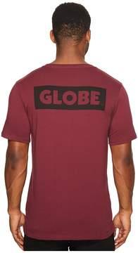 Globe Sticker Tee Men's T Shirt