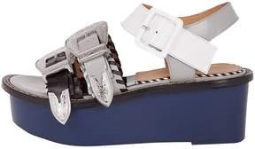 Toga Pulla Buckled Platform Sandals