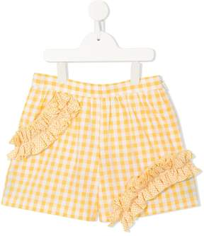 MSGM gingham shorts